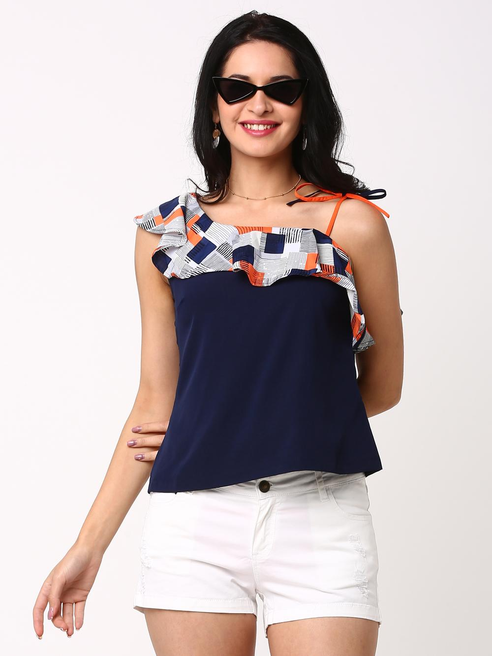 c461b9a65bf0e2 Abof Women Tops - Buy Trendy Tops For Women Online